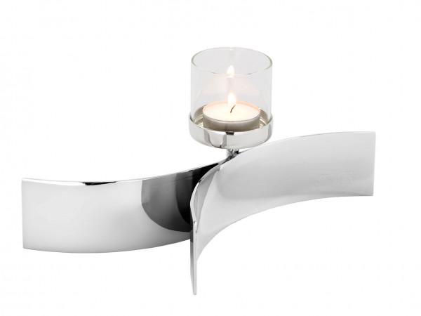 Fink Living Teelichthalter mit Glas Melody - 1-flammig