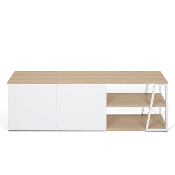 Temahome Tv-Sideboard Albi - Eiche / Weiß