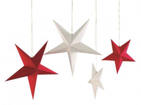 Weihnachtsanhänger der Stern