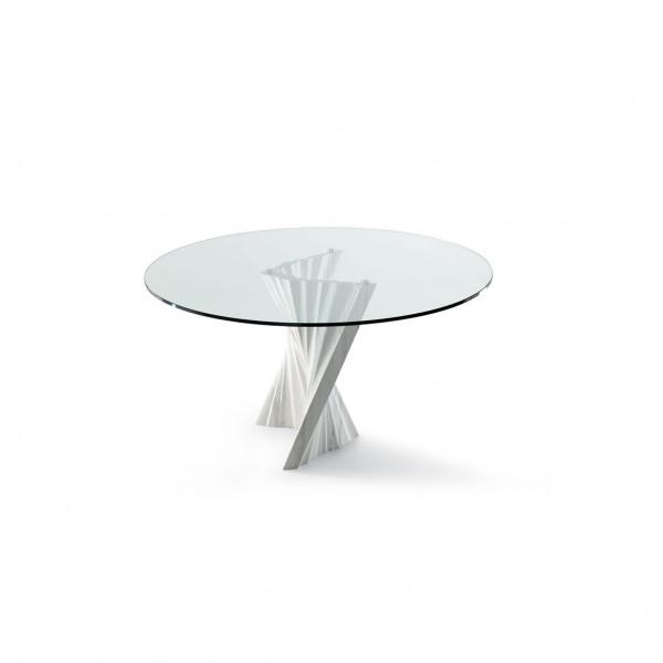 Tisch Plisset - rund