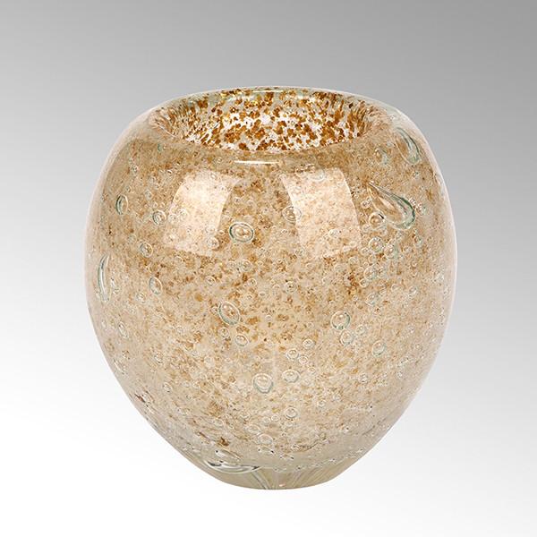Vase Salviato von Lambert Gold - Höhe 12 cm