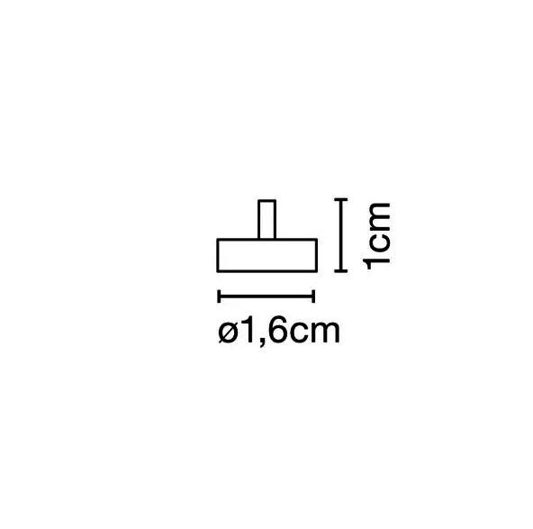 Marset Bicoca Zubehör-Magnet Maße