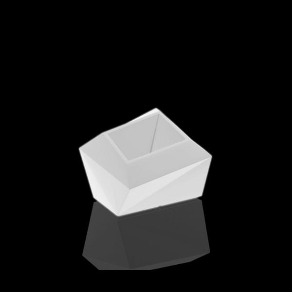 Beleuchtetes Pflanzgefäß Faz - 42 cm