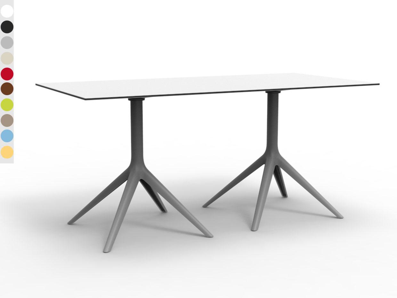 Vondom Garten Tisch Mari Sol Double 4 Online Kaufen